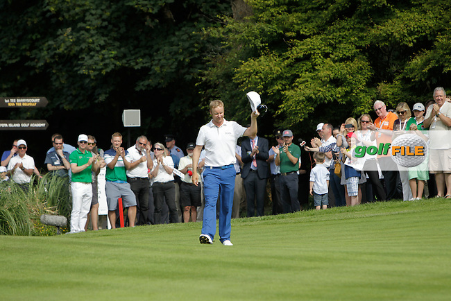 Mikko Ilonen (FIN) winner of the Irish Open at Fota Island on Sunday 22nd June 2014.<br /> Picture:  Thos Caffrey / www.golffile.ie