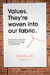 Matalan clothing company ethical standards values statement poster