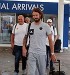 08.08.18 FK Maribor arrive at Glasgow airport: Marko Šuler