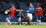 Marcus Fraser handles the shot from Bilel Mohsni