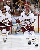 (Gerbe, Boyle, Lombardi) Andrew Orpik (Boston College - East Amherst, NY) - The Boston College Eagles defeated the Miami University Redhawks 4-0 in the 2007 NCAA Northeast Regional Final on Sunday, March 25, 2007 at the Verizon Wireless Arena in Manchester, New Hampshire.