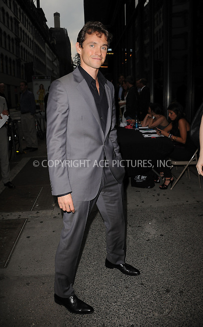 """WWW.ACEPIXS.COM . . . . . ....July 27 2009, New York City....Actor Hugh Dancy arriving at The Cinema Society & Brooks Brothers screening of """"Adam"""" at AMC Loews 19th Street on July 28, 2009 in New York City.....Please byline: KRISTIN CALLAHAN - ACEPIXS.COM.. . . . . . ..Ace Pictures, Inc:  ..tel: (212) 243 8787 or (646) 769 0430..e-mail: info@acepixs.com..web: http://www.acepixs.com"""