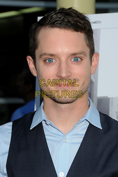 "Elijah Wood.FX Network's ""Wilfred"" Series Premiere & ""Louie"" Season 2 Premiere held at Arclight Cinemas, Hollywood, California, USA..June 20th, 2011.headshot portrait blue shirt stubble facial hair .CAP/ADM/BP.©Byron Purvis/AdMedia/Capital Pictures."