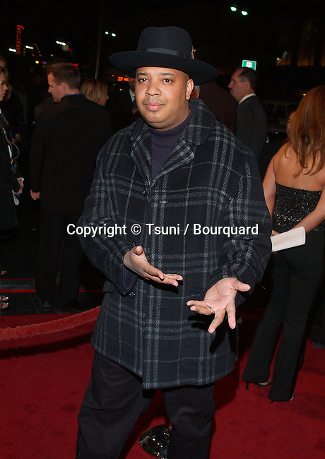 Run DMV arriving at the Muhammad Ali 60Th Birthday Celebration at the Kodak Theatre in Los Angeles. January 12, 2002.          -            RunDMC01A.jpg