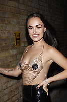 LONDON, ENGLAND - OCTOBER 05 :  Saskia Jade attends the UKAP Awards 2018, at Pulse club on October 05, 2018 in London, England.<br /> CAP/AH<br /> &copy;AH/Capital Pictures