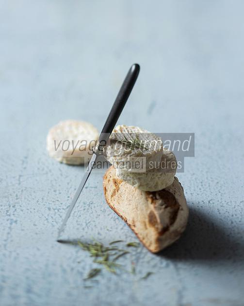 Pélardon AOP des Cévennes  //  Pélardon is a French cheese from the Cevennes - Stylisme : Valérie LHOMME