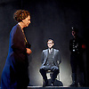 Taken at Midnight by Mark Hayhurst <br /> directed by Jonathan Church <br /> at Theatre Royal Haymarket, London, Great Britain <br /> 16th January 2015 <br /> <br /> Penelope Wilton as Irmgard Litten <br /> <br /> Martin Hutson as Hans Litten <br /> <br /> <br /> <br /> <br /> Photograph by Elliott Franks <br /> Image licensed to Elliott Franks Photography Services