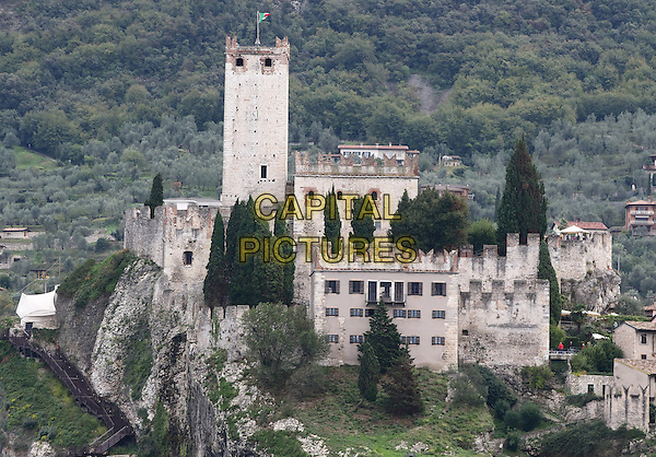 LAGO DI GARDA, ITALY - Castello Scaligero (Scaliger Castle) in Malcesine on 17 October 2015 in Lago di Garda, Italy<br /> <br /> CAP/ROS<br /> &copy;ROS/Capital Pictures