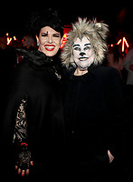 """LOS ANGELES - OCTOBER 26: (L-R) Alexis Martin Woodall and Kathy Bates attend the red carpet event to celebrate 100 episodes of FX's """"American Horror Story"""" at Hollywood Forever Cemetery on October 26, 2019 in Los Angeles, California. (Photo by John Salangsang/FX/PictureGroup)"""