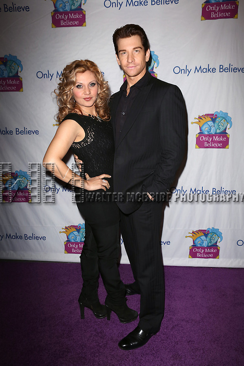 Orfeh and Andy Karl attend the 14th Annual 'Only Make Believe' Gala at the Bernard B. Jacobs Theatre on November 4, 2013  in New York City.