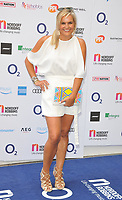 Katy Hill at the Nordoff Robbins O2 Silver Clef Awards 2018, Grosvenor House Hotel, Park lane, London, England, UK, on Friday 06 July 2018.<br /> CAP/CAN<br /> &copy;CAN/Capital Pictures