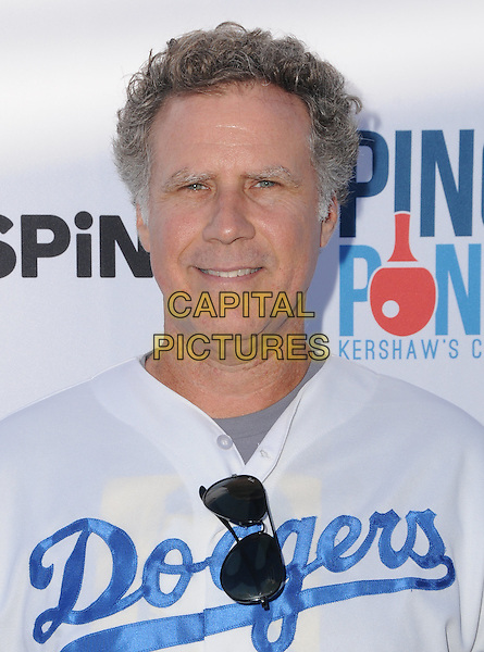 11 August 2016 - Los Angeles, California. Will Ferrell. Clayton Kershaw's 4th Annual Ping Pong 4 Purpose Celebrity Tournament held at Dodger Stadium. <br /> CAP/ADM/BT<br /> &copy;BT/ADM/Capital Pictures