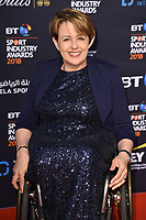Dame Tanni Grey Thompson<br /> arriving for the BT Sport Industry Awards 2018 at the Battersea Evolution, London<br /> <br /> ©Ash Knotek  D3399  26/04/2018
