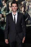 "HOLLYWOOD, CA - DECEMBER 02: James Maslow arriving at the Los Angeles Premiere Of Warner Bros' ""The Hobbit: The Desolation Of Smaug"" held at Dolby Theatre on December 2, 2013 in Hollywood, California. (Photo by Xavier Collin/Celebrity Monitor)"