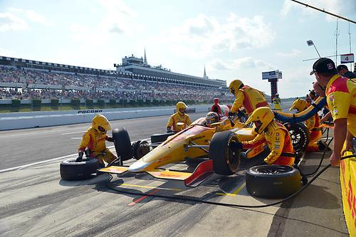 Verizon IndyCar Series<br /> ABC Supply 500<br /> Pocono Raceway, Long Pond, PA USA<br /> Sunday 20 August 2017<br /> Ryan Hunter-Reay, Andretti Autosport Honda<br /> World Copyright: Gavin Baker<br /> LAT Images