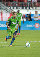 August 10, 2013: Seattle Sounders FC forward Clint Dempsey #2 in action during an MLS regular season game between the Seattle Sounders and Toronto FC at BMO Field in Toronto, Ontario Canada.<br /> Seattle Sounders FC won 2-1.