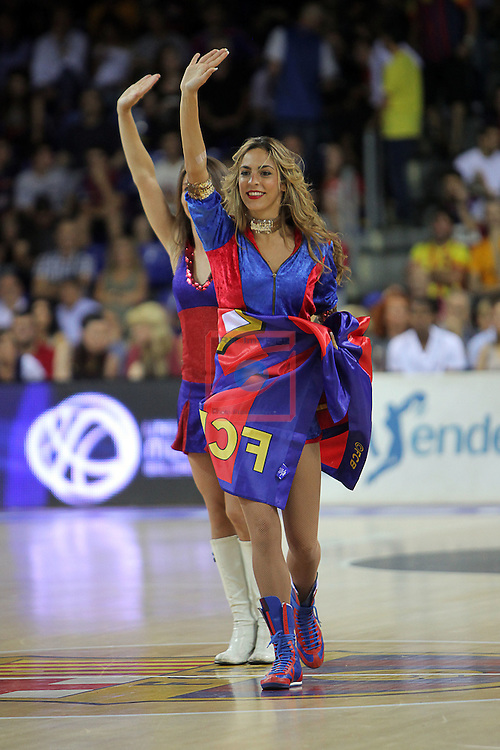 League ACB-ENDESA 2015/2016. <br /> Play-Off Final - Game 2.<br /> FC Barcelona Lassa vs Real Madrid: 70-90.<br /> Dream Cheers.