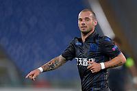 Wesley Sneijder Nice<br /> Roma 02-11-2017 Stadio Olimpico Uefa Europa League 2017/2018 Lazio - Nizza / Lazio - Nice Foto Antonietta Baldassarre / Insidefoto