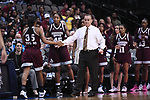 DALLAS, TX - MARCH 31: Head coach Vic Schaefer of Mississippi State Lady Bulldogs during the 2017 Women's Final Four at American Airlines Center on March 31, 2017 in Dallas, Texas. (Photo by Justin Tafoya/NCAA Photos via Getty Images)