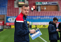 Bolton Wanderers' David Wheater inspecting the pitch before the match<br /> <br /> Photographer Andrew Kearns/CameraSport<br /> <br /> The EFL Sky Bet Championship - Wigan Athletic v Bolton Wanderers - Saturday 16th March 2019 - DW Stadium - Wigan<br /> <br /> World Copyright &copy; 2019 CameraSport. All rights reserved. 43 Linden Ave. Countesthorpe. Leicester. England. LE8 5PG - Tel: +44 (0) 116 277 4147 - admin@camerasport.com - www.camerasport.com