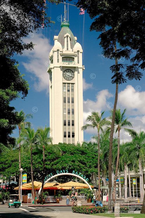 Aloha Tower Marketplace, Honolulu, Hawaii