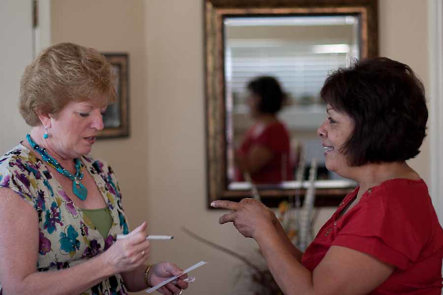 Martha Tessmer started the Mother of an Angel Friendship Network after her teenage son Donovan died in a distracted driving car accident. The support group is for mothers who have lost a child to death.