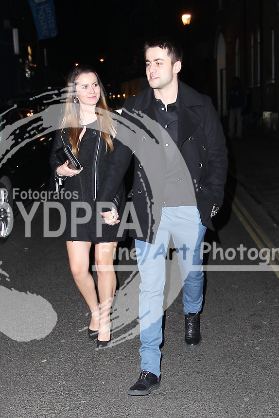Arsenal FC Xmas Party at L'Atelier Restaurant in West St, London<br /> <br /> Lukasz Fabianski<br /> <br /> . Photo: Iso / DYD Fotografos