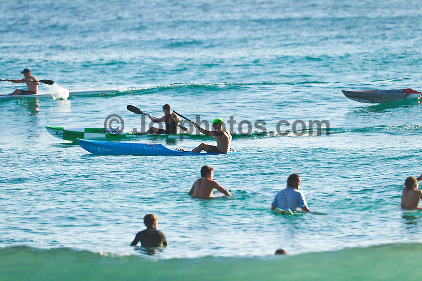 BURLEIGH, Queensland/Australia (Saturday, 21 January, 2012) – Free surfing at Burleigh Heads today..Photo: joliphotos.com