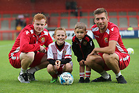 Stevenage Mascots during Stevenage vs Norwich City, Friendly Match Football at the Lamex Stadium on 11th July 2017