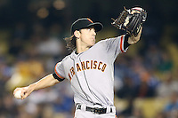 05/09/12 Los Angeles, CA: San Francisco Giants starting pitcher Tim Lincecum #55 during an MLB game played between the San Francisco Giants and Los Angeles Dodgers at Dodger Stadium