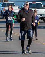 The 2019 Barnesville Santa's Spirit Sprint walk/run, Barnesville, Ohio December 7, 2019.