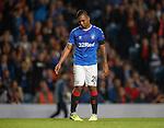 19.09.2019 Rangers v Feyenoord: Alfredo Morelos down in the dumps after not scoring
