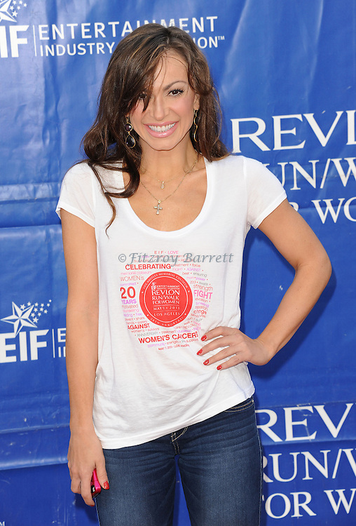 "Karina Smirnoff at the ""20th Annual EIF Revlon Run/Walk For Women"" held at the Los Angeles Memorial Coliseum at Exposition Park on May 11, 2013."