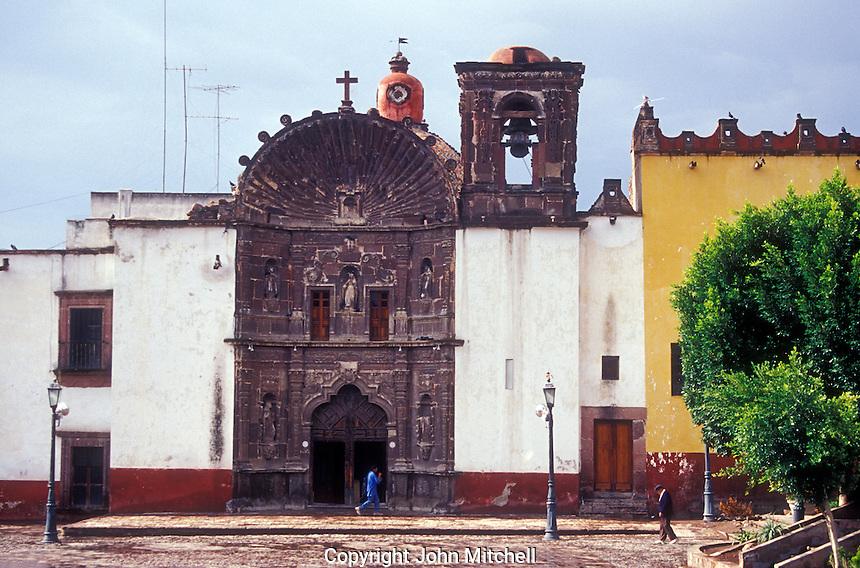 The Templo de la Salud church in San Miguel de Allende, Mexico