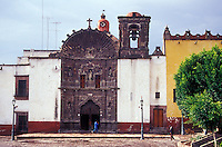 The Templo de la Salud church in San Miguel de Allende, Mexico