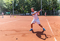 Delft, The Netherlands, Mai 29, 2020,    Tennisvereniging Delftse Hout, 1.5 meter <br /> Photo: Tennisimages/Henk Koster