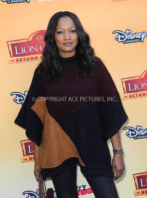 WWW.ACEPIXS.COM<br /> <br /> November 14 2015, LA<br /> <br /> Garcelle Beauvais arriving at the premiere of Disney Channel's 'The Lion Guard: Return Of The Roar' at Walt Disney Studios on November 14, 2015 in Burbank, California.<br /> <br /> <br /> By Line: Peter West/ACE Pictures<br /> <br /> <br /> ACE Pictures, Inc.<br /> tel: 646 769 0430<br /> Email: info@acepixs.com<br /> www.acepixs.com