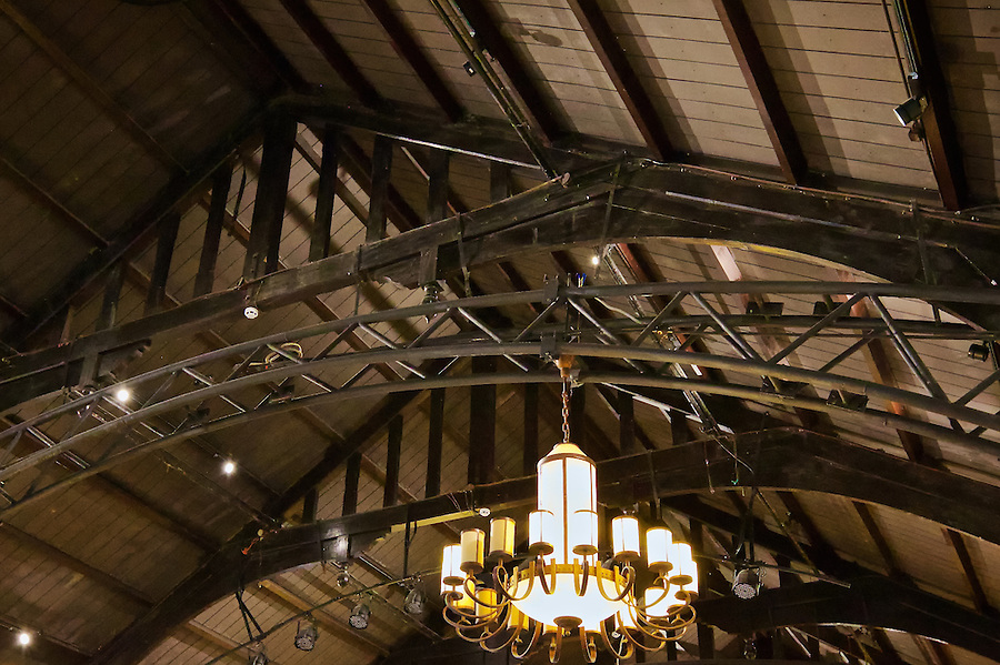 Roof Rafters In The Ballroom.