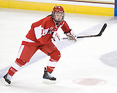 Catherine Ward (BU - 17) - The visiting Boston University Terriers defeated the Boston College Eagles 1-0 on Sunday, November 21, 2010, at Conte Forum in Chestnut Hill, Massachusetts.