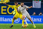 Jonathan Dos Santos (l) of Villarreal CF competes for the ball with Daniel Carvajal Ramos of Real Madrid during their La Liga match between Villarreal CF and Real Madrid at the Estadio de la Cerámica on 26 February 2017 in Villarreal, Spain. Photo by Maria Jose Segovia Carmona / Power Sport Images