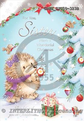 John, CHRISTMAS ANIMALS, paintings, GBHSSXC50-323B,#XA# Weihnachten, Navidad, illustrations, pinturas