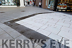 New surface material appears in the small square in Tralee.
