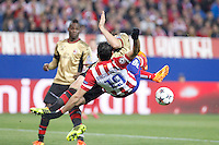 Atletico de Madrid´s Diego Costa during 16th Champions League soccer match at Vicente Calderon stadium in Madrid, Spain. March 11, 2014. (ALTERPHOTOS/Victor Blanco)