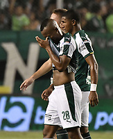 PALMIRA - COLOMBIA, 16-03-2019: Andres Balanta del Cali luce decepcionado después del partido por la fecha 10 de la Liga Águila I 2019 entre Deportivo Cali y América de Cali jugado en el estadio Deportivo Cali de la ciudad de Palmira. / Andres Balanta of Cali looks disappointed after match for the date 10 as part Aguila League I 2019 between Deportivo Cali and America de Cali played at Deportivo Cali stadium in Palmira city.  Photo: VizzorImage / Gabriel Aponte / Staff