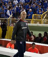 Bob Bradley during FIFA World Cup qualifier against El Salvador. USA tied El Salvador 2-2 at Estadio Cuscatlán Stadium in El Salvador on March 28, 2009.