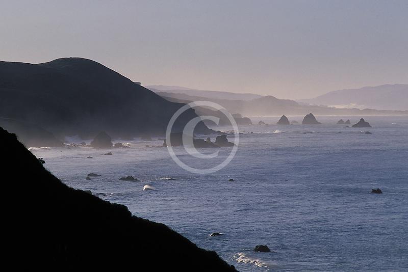 California, Bodega Bay, Sonoma coastline