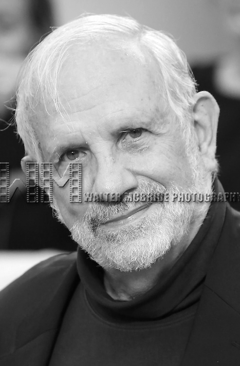 Brian De Palma attends 'The Magnificent Seven' Red Carpet Gala Opening Night of the 2016 Toronto International Film Festival at TIFF Bell Lightbox on September 8, 2016 in Toronto, Canada.