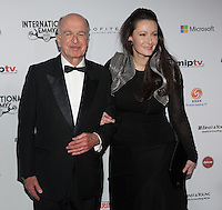 NEW YORK, NY - NOVEMBER 19: Bruce Paisner and Camille Bidermann Roizen at the 40th International Emmy Awards in New York. November 19, 2012. © Diego Corredor/MediaPunch Inc. /NortePhoto