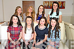 Hannah Stack, Fenit, celebrates her 13th birthday with friends at La Scala on Saturday pictured front l-r Iona O'Neill, Sinead O'Brien, Hannah Stack, Jessie Tierney. Back l-r Megan Rockberry, Rachel Cleary, Niamh McMahon, Karen Fitzgerald