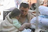 AQUILA 06/04/2009 TERREMOTO.I FERITI IN OSPEDALE.FOTO CIRO DE LUCA